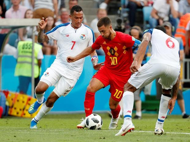 With World Cup trophy, Belgium's quest for free TVs for fellow countrymen