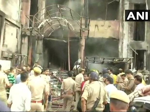 Lucknow, Lucknow hotel fire