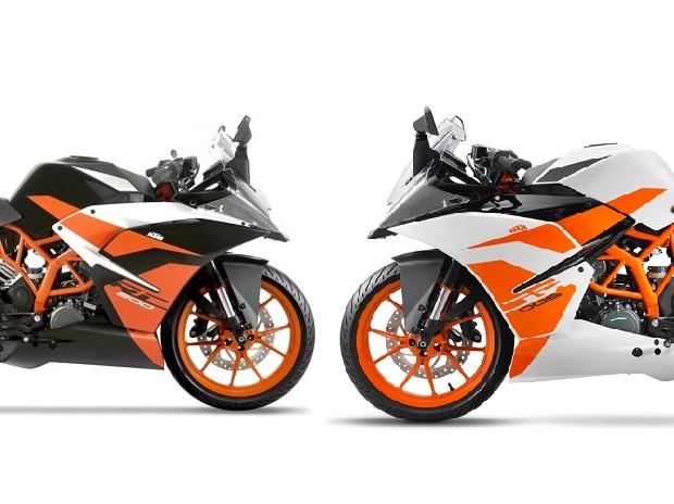 KTM RC 200 black colour model launched