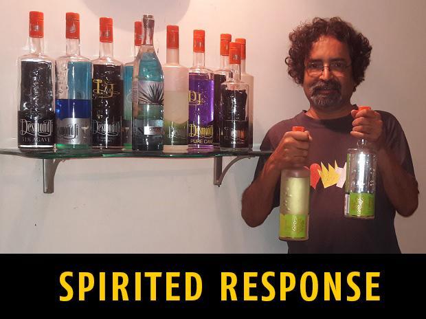 Desmond Nazareth, DesmondJi, liqor, tequila, goa based desmond ji, alcohol, nazreth's tequila, mahua, deccan plateu