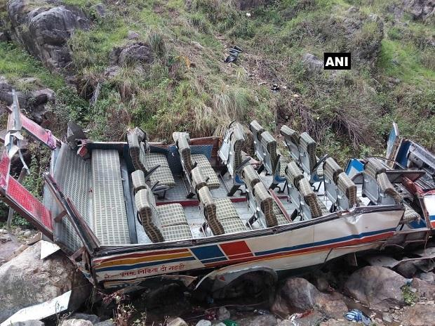 bus accident, Uttarakhand