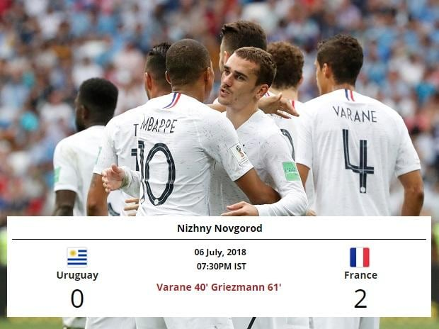 France get a comfortable two-goal win