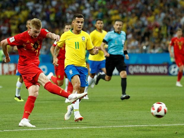 Kevin De Bruyne's stunning right-footer extended the lead
