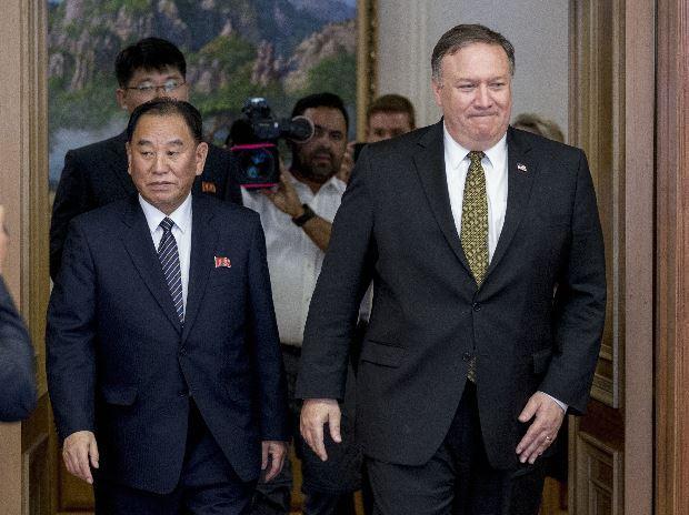 Mike Pompeo, Kim Yong Chol