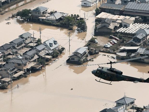 Japan rains
