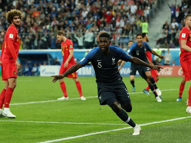Umtiti scores for France