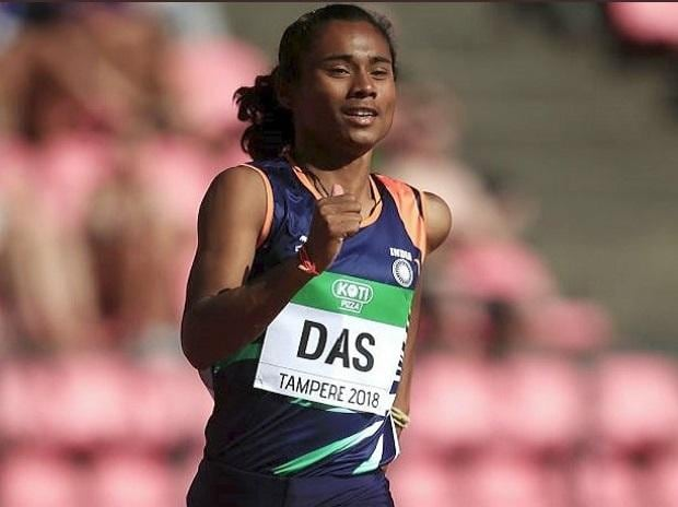Hima Das, World Junior Athletics