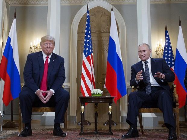 File photo of Donald Trump and Vladimir Putin