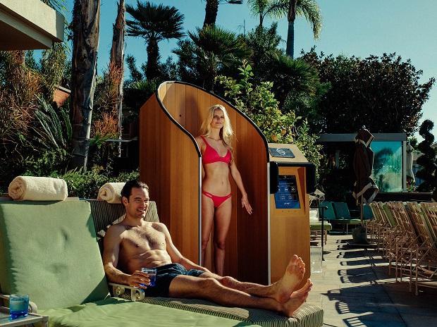 beach, sunbath, pool