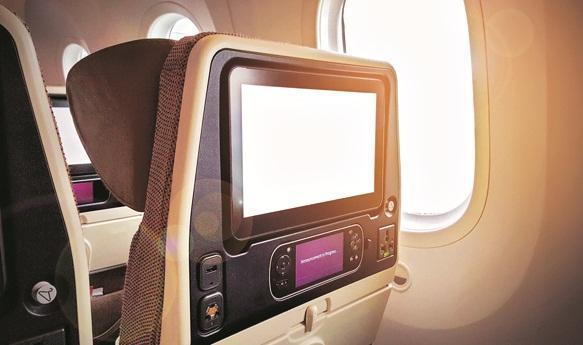 In-flight delight