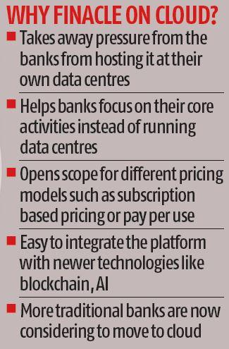 Infosys takes Finacle on cloud to Australia