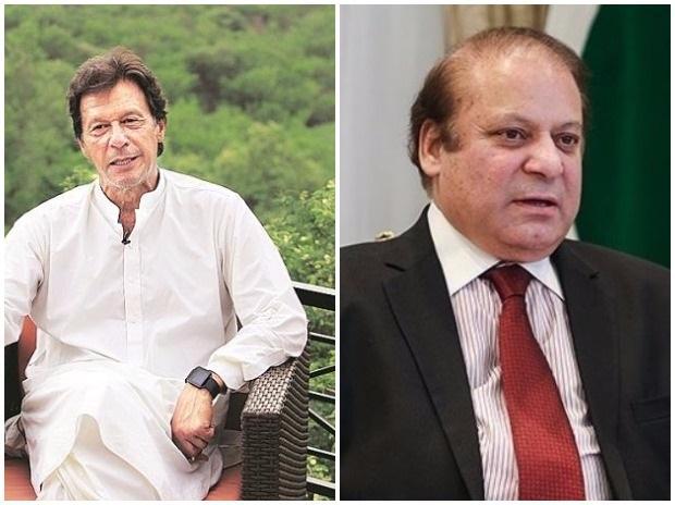 Imran Khan, Nawaz Sharif , Pakistan polls