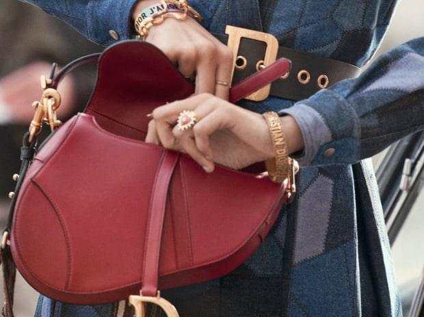304b96cabace Dior brings back equestrian-inspired saddle bag with Instagram blitz ...