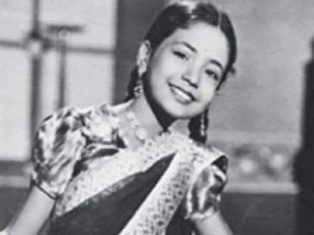 Baby Meena began acting when she was four