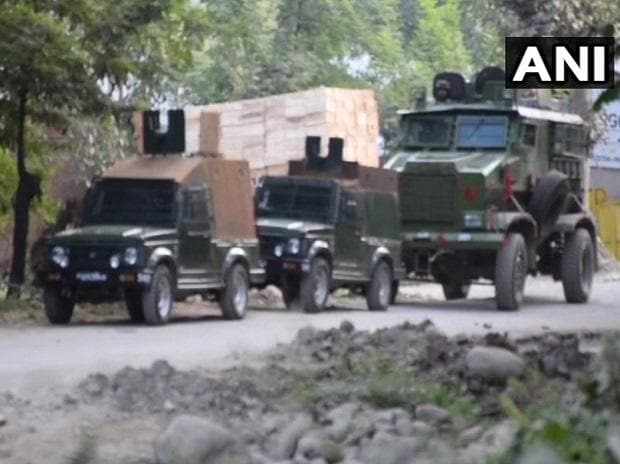 Shopian encounter with security forces in Jammu and Kashmir