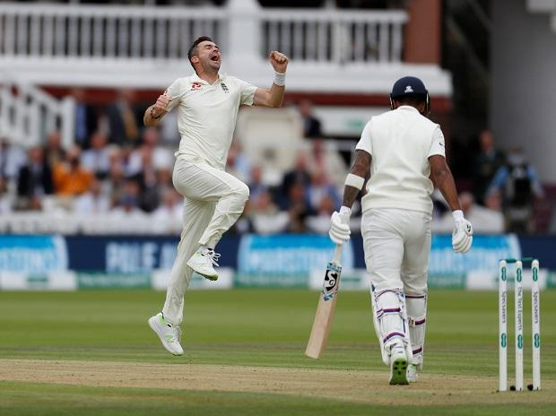 Ind vs Eng 2nd Test Day 2: Rain stops play after Anderson removes openers