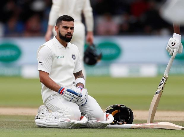 Virat Kohli. Photo: Reuters
