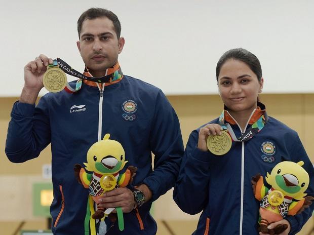 SHOOTERS APURVI, RAVI OPEN INDIA'S ACCOUNT