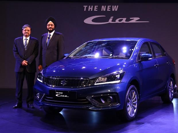 Maruti Suzuki launches Ciaz facelift starting at Rs 819,000: Details here