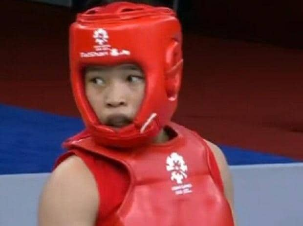 17 YEAR-OLD ROSHIBINA DEVI CLAIMS BRONZE ON DEBUT