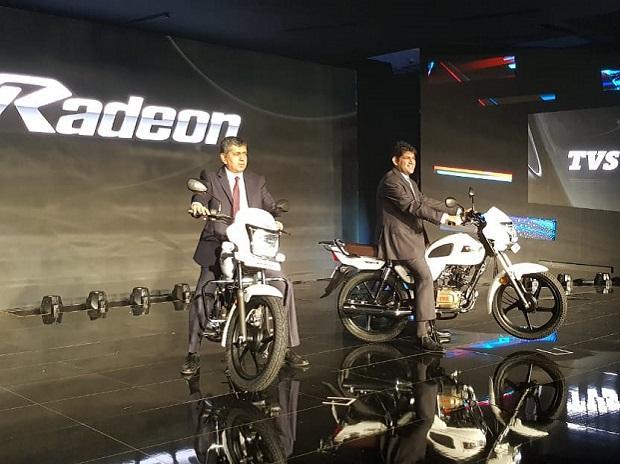 TVS Radeon motorcycle