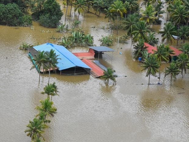 A view of the flood affected areas, in Kochi on August 19, 2018 | File photo