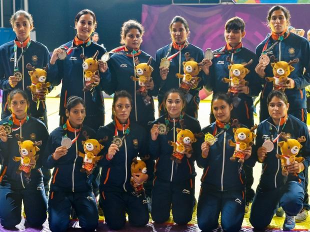 INDIAN EVES SETTLE FOR SILVER IN KABADDI