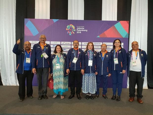Indian mixed bridge team gets bronze medal at Asiad