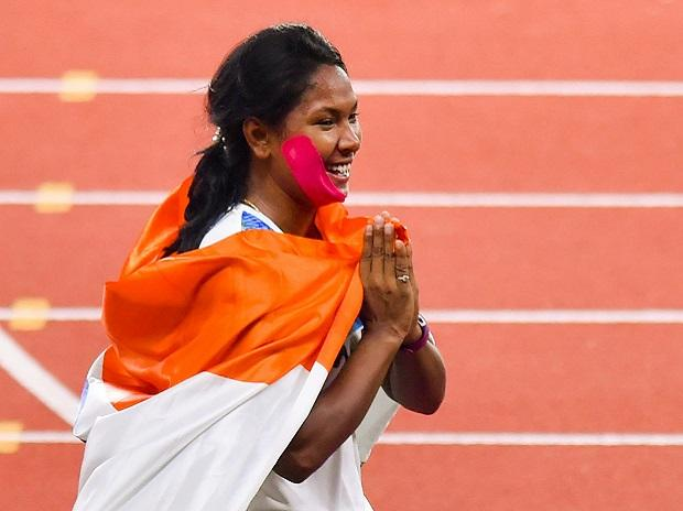 Swapna breaks new ground, becomes first Indian heptathlete to win Asiad gold