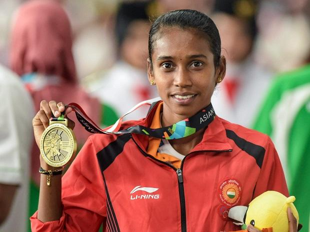 Chitra bags a bronze in women's 1500m in Asian Games