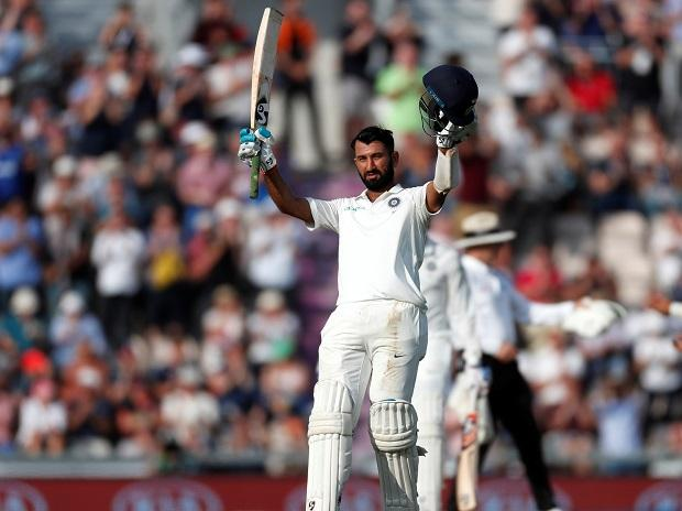 File photo: Ind vs Eng 4th Test Day 2: Pujara hits 100 as India middle order crumbles