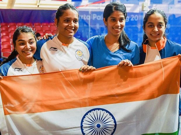 squash, asian games 2018, joshna chinappa, dipika pallikal, sunayna sara, tanvi khanna