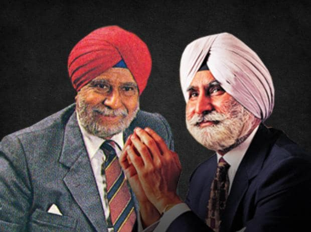 An earlier feud in the Singh family