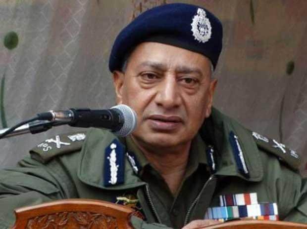 Jammu and Kashmir police chief, S P Vaid