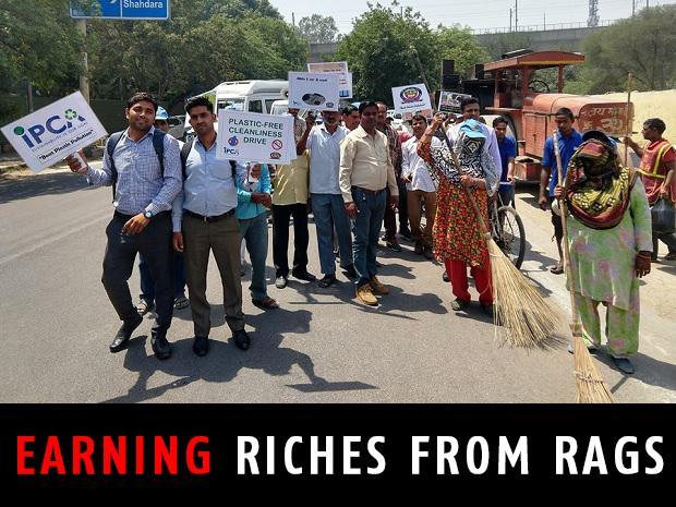 IIT Delhi, plastics, waste management, , rag pickers,  IIT Delhi, paryanmitras