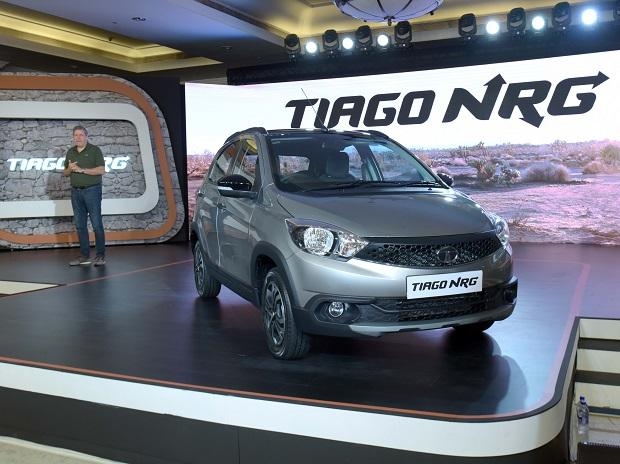 Tata Motors' Tiago NRG is priced at Rs 549,000
