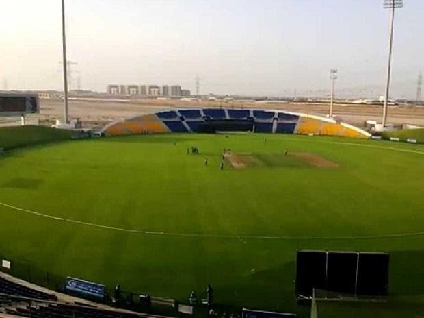 Sheikh Zayed Stadium at Abu Dhabi