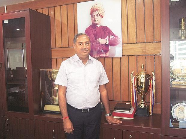 Chairman and MD of Coal India Anil Kumar Jha.