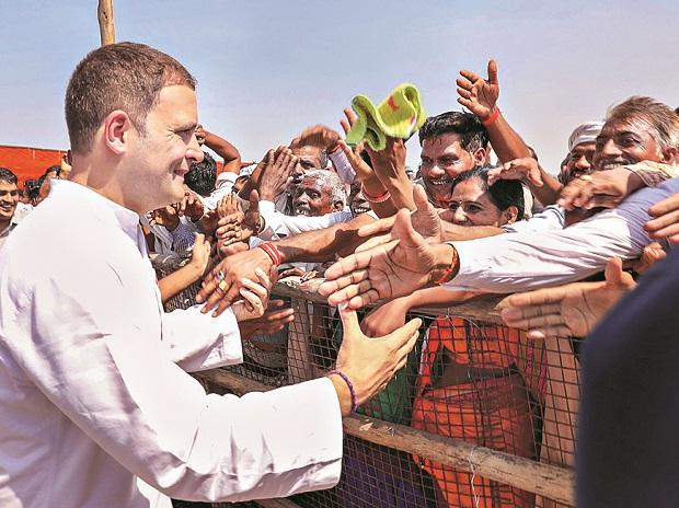 Rahul Gandhi attacks PM Modi on economic policies at roadshow in Dholpur