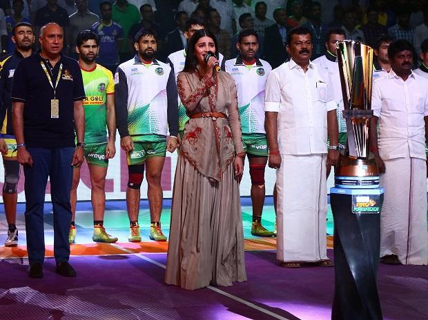 PKL 2018, Shruti Hasan during chennai leg