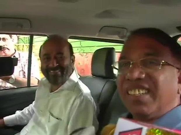 Dayanand Sopte (left) and Subhash Shirodkar. Photo: ANI