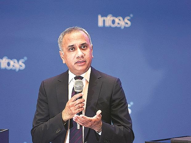 Infosys CEO & MD Salil Parekh says the ...