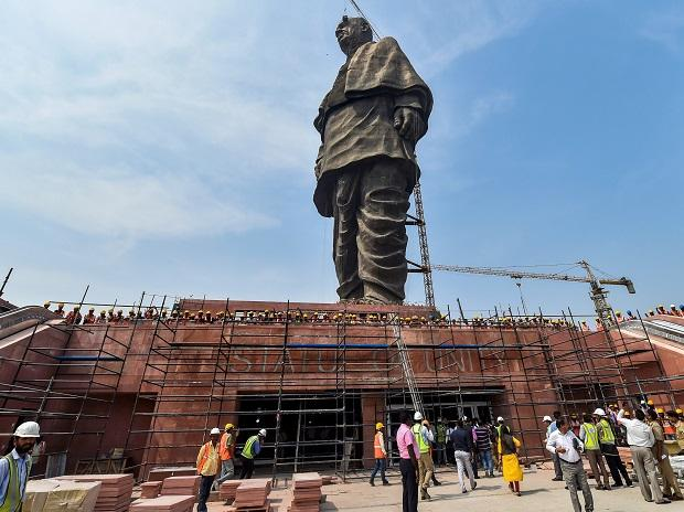 Image result for no salaries paid to sardar patel statue employees for three months
