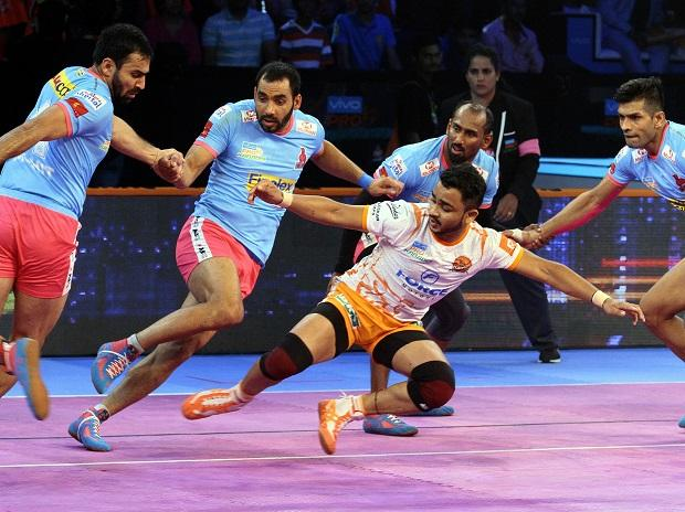 PKL 2018, Puneri Paltan vs Jaipur Pink Panthers