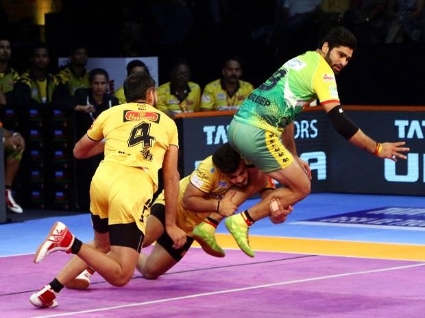 PKL 2018, Patna Pirates vs Telugu Titans