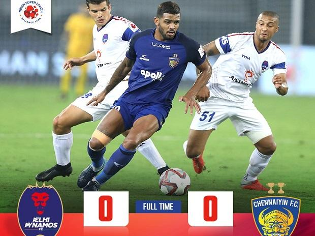 Delhi Dynamos FC vs Chennaiyin FC (Photo: indiansuperleague.com)