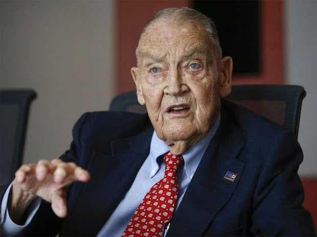 John Bogle, founder of Vanguard Group