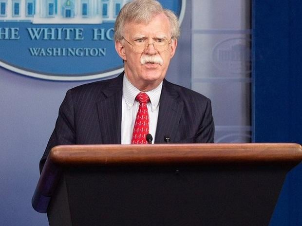 US National Security Advisor John Bolton. Photo: Twitter @@AmbJohnBolton