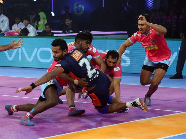 PKL 2018 today match: Jaipur Pink Panthers vs Dabang Delhi