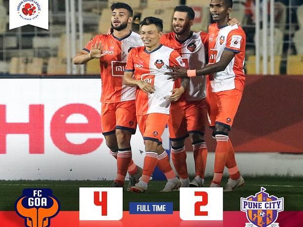 FC Goa vs FC Pune City (Photo: indiansuperleague.com)